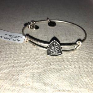 Alex and Ani ship charm bracelet.